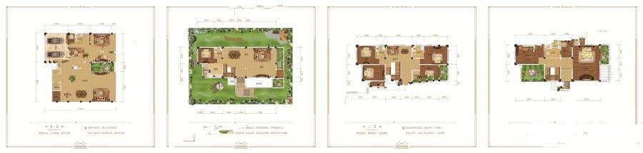 维多利亚港湾维多利亚港湾独栋别墅-5室3厅户型图