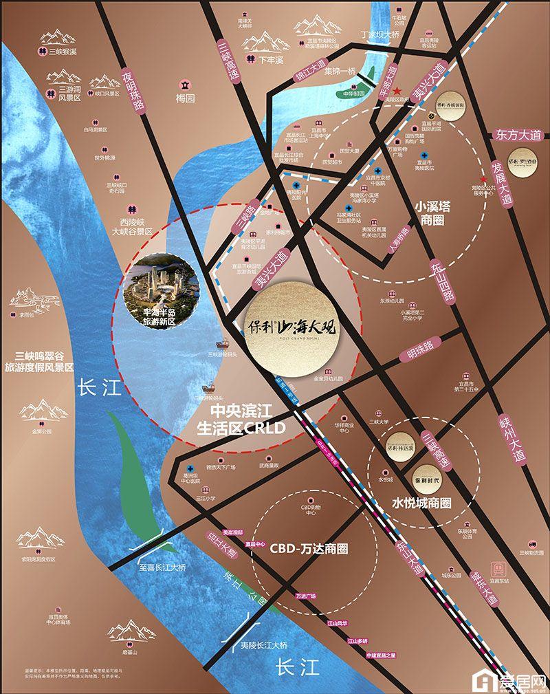 保利·山海大观区位图