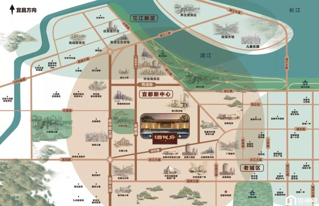 新鸿·国悦府区位图