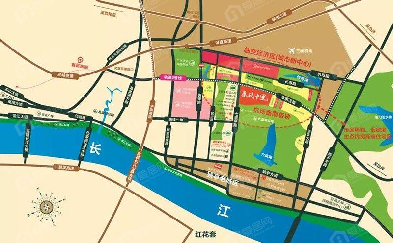 锦昌·春风十里区位图